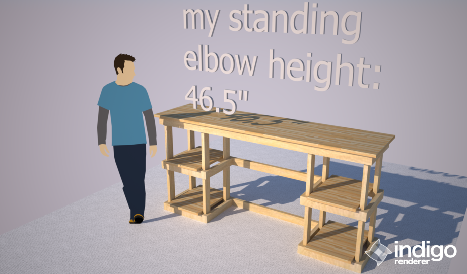 My Diy Ikeahacked Standing Height Desk Vulariter Blog
